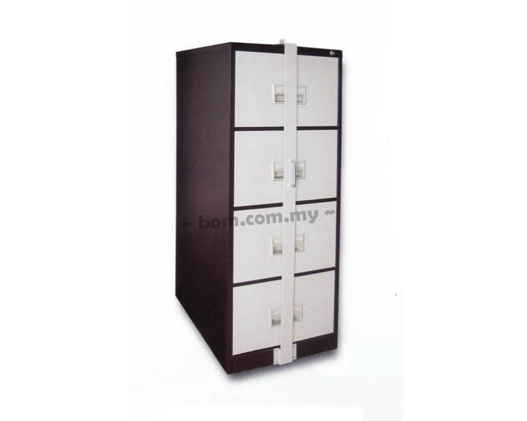 4 Drawers Filing Cabinet With Locking Bar Malaysia